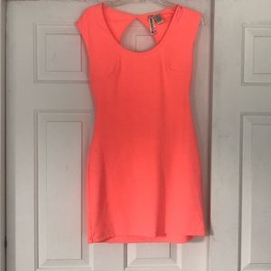 Mimi chica neon body-con dress